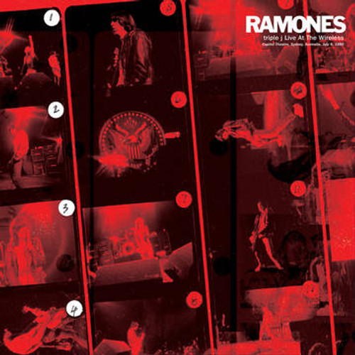 RSD2021 Ramones - triple j Live At The Wireless: Capitol Theatre, Sydney, Australia, July 8th, 1980 (Vinyl, LP, Album, Limited Edition, 180g, Numbered)