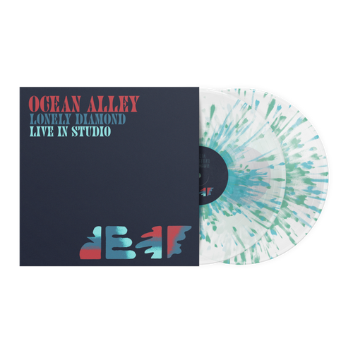 RSD2021 Ocean Alley - Lonely Diamond: Live In Studio (2 x Vinyl, LP, Album, Limited Edition, Clear With Blue And Green Splatter)