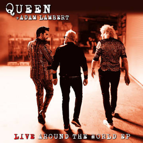 RSD2021 Queen & Adam Lambert - Live Around The World (Vinyl, LP, Album, Limited Edition)