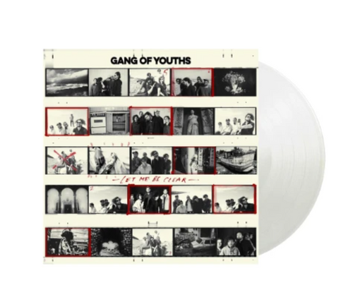 """Gang of Youths – Let Me Be Clear    (Vinyl, 12"""", EP, Limited Edition,  Clear Vinyl)"""