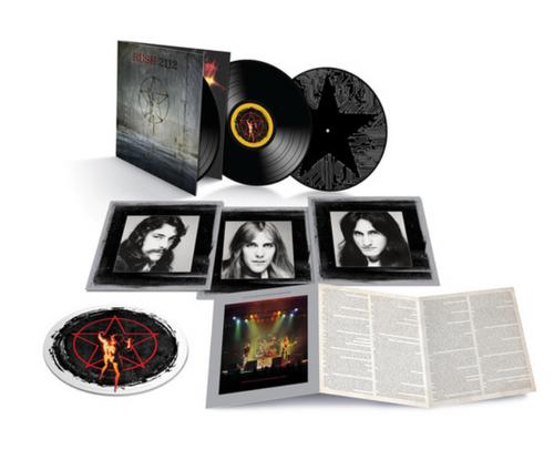 Rush – 2112 (40th Anniversary).   (3x LP, Album, Deluxe Edition, Remastered