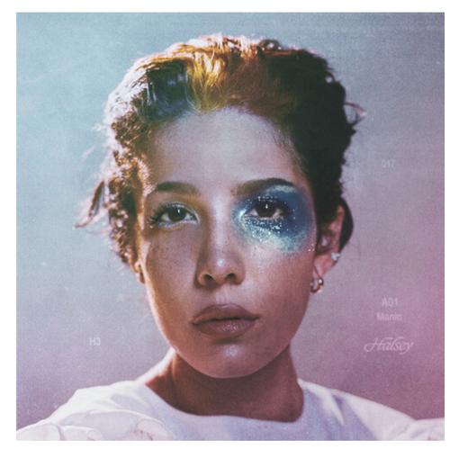 Halsey – Manic.   (Vinyl, LP, Album, Clear Milky)