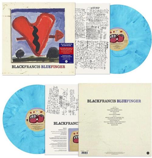 Black Francis - Bluefinger (Vinyl, LP, Album, Limited Edition, Marbled Blue)