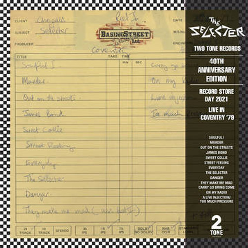 RSD2021 The Selecter - Live In Coventry '79 (Vinyl, LP, Album, Limited Edition, Clear)