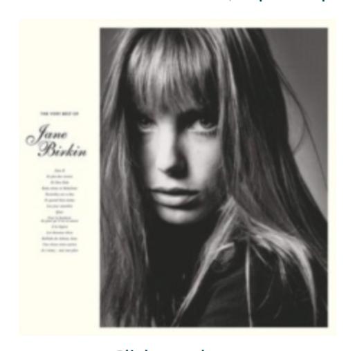 Jane Birkin – The Very Best Of    (Vinyl, LP, Compilation)