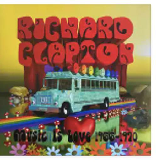 Richard Clapton – Music Is Love (1966-1970).   ( Vinyl, LP, Album)