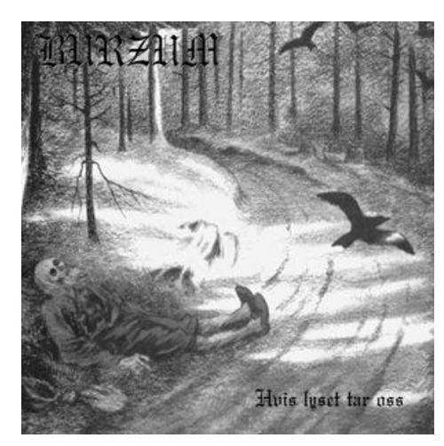 Burzum – Hvis Lyset Tar Oss.   (Vinyl, LP, Album)