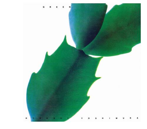 Hiroshi Yoshimura – Green.   ( Vinyl, LP, Album,  Clear/Green Swirl [Translucent Leaves])