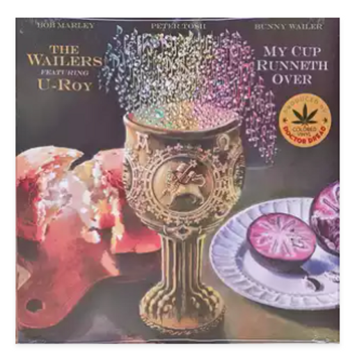 The Wailers Featuring U-Roy – My Cup Runneth Over.   (Vinyl, LP, Album, Translucent Green)