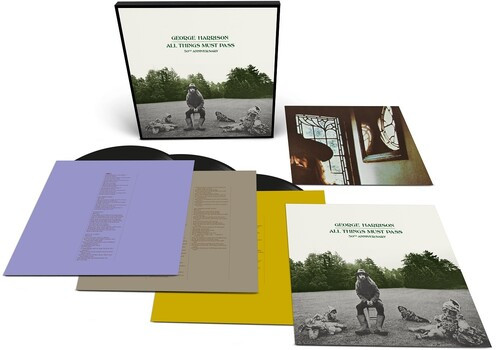 George Harrison - All Things Must Pass 50th Anniversary Edition (3 x Vinyl, LP, Album, Remastered, Boxset, 180g)