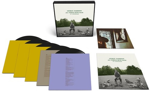 George Harrison - All Things Must Pass 50th Anniversary Edition (5 x Vinyl, LP, Album, Remastered, Deluxe Edition Boxset, 180g)