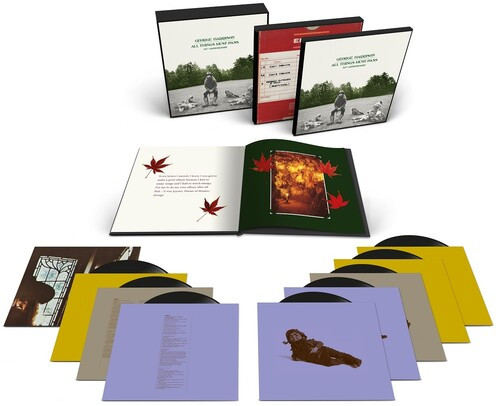 George Harrison - All Things Must Pass 50th Anniversary Edition (8 x Vinyl, LP, Album, Remastered, Super Deluxe Edition Boxset, 180g)