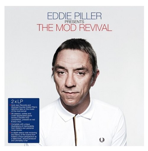 Various - Eddie Piller – The Mod Revival.   ( Vinyl, LP, Compilation, Red, Blue)