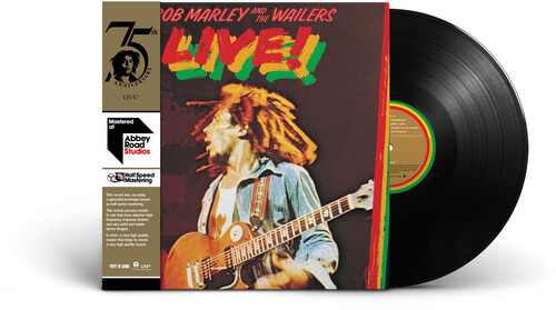 Bob Marley & The Wailers – Live! (Vinyl, LP, Album, Special Edition, Half Speed Mastering)
