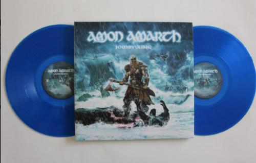 Amon Amarth – Jomsviking.   (2 x Vinyl, LP, Album, Limited Edition, Blue Sea Transparent)