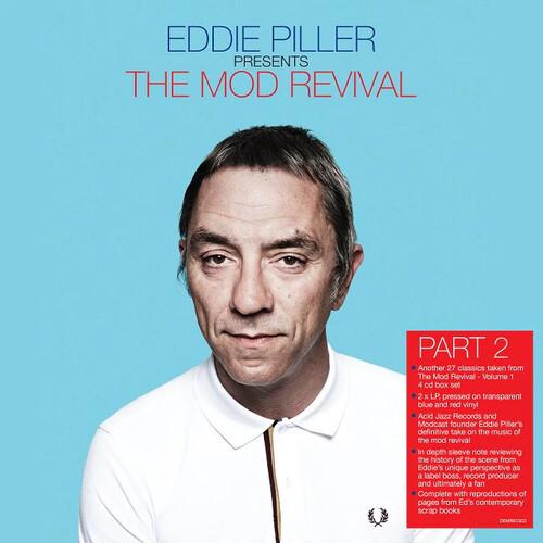 Various Artists - Eddie Piller Presents The Mod Revival Part 2 (2 x Vinyl, LP, Compilation, Transparent Red/Blue)