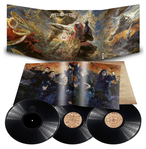 Helloween – Helloween.   ( 3 x Vinyl, LP, Album, Limited Edition, Hologram)