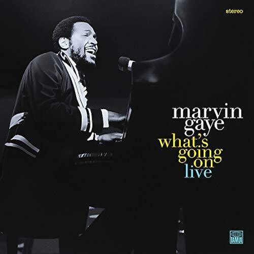 Marvin Gaye - What's Going On Live (2 x Vinyl, LP, Album, Stereo)