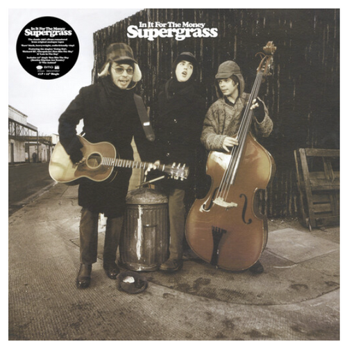 Supergrass – In It For The Money.   ( Vinyl, LP, Album, Limited Edition, Turquoise)