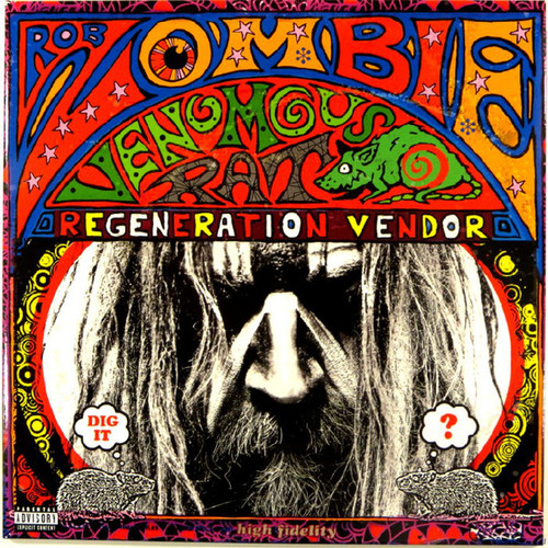Rob Zombie - Venomous Rat Regeneration Vendor (Vinyl, LP, Album, 180g)