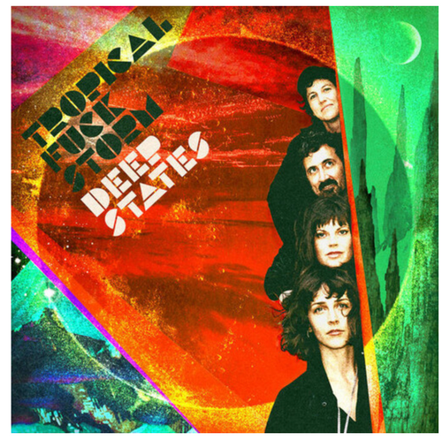 Tropical Fuck Storm – Deep States.   (Vinyl, LP, Album, Limited Edition, Red Colored Vinyl)