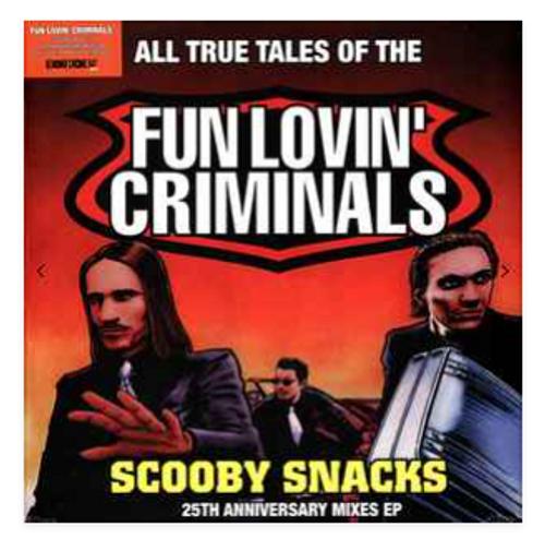 "Fun Lovin' Criminals – Scooby Snacks.   (Vinyl, 12"", EP, Orange_"