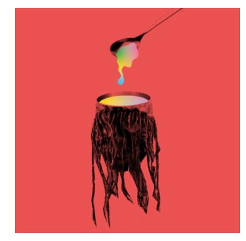 """Goat  – Headsoup    ( Vinyl, LP, Album, Compilation, Blue Vinyl, 7""""Single)"""