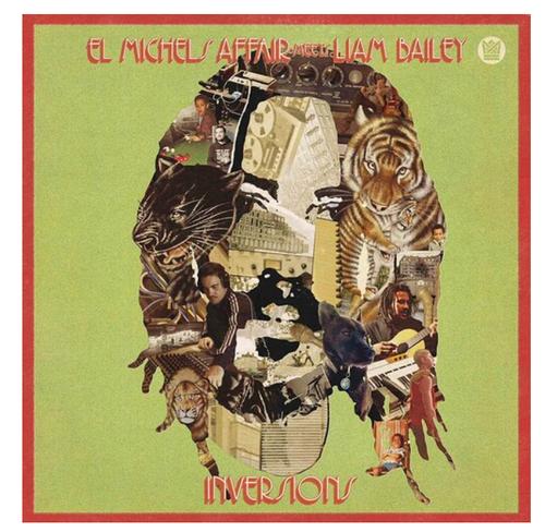El Michels Affair Meets Liam Bailey – Ekundayo Inversions.   (Vinyl, LP, Album, Red Translucent)