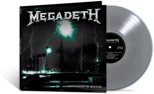 Megadeth - Unplugged In Boston (Vinyl, LP, Album, Limited Edition, Silver)