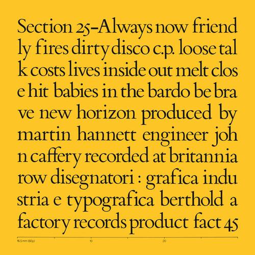 Section 25 - Always Now (5 x Vinyl, LP, Album, Limited Edition, Boxset, Remastered, Coloured Vinyl)