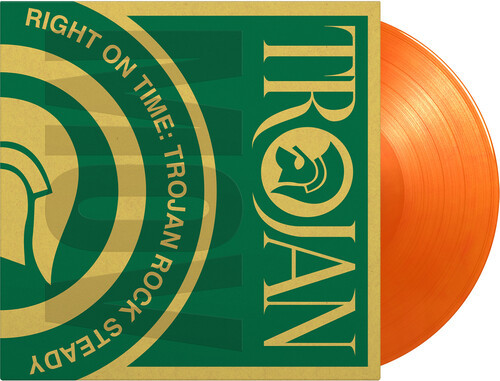 Various Artists - Right On Time: Trojan Rock Steady (2 x Vinyl, LP, Album, Limited Edition, Numbered, Trojan Orange, 180g)