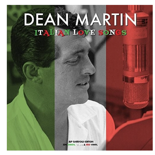 Dean Martin – Italian Love Songs.   (3x LP, Vinyl, Red, White, Green)