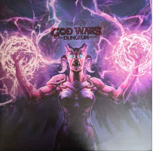 RuneScape: God Wars Dungeon   - Soundtrack.  ( 2 x Vinyl, LP, Deluxe Edition, Limited Edition, Gatefold, Turquoise blue and purple side a/b effect vinyl)