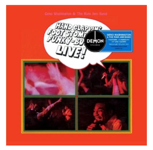 Geno Washington & The Ram Jam Band – Geno Washington Live!    (2 x Vinyl, LP, Compilation)
