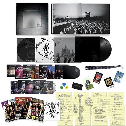 Metallica - Metallica (6 x Vinyl, LP, Album, 14 x CD, 6 x DVD, Deluxe Edition, Numbered, Boxset)