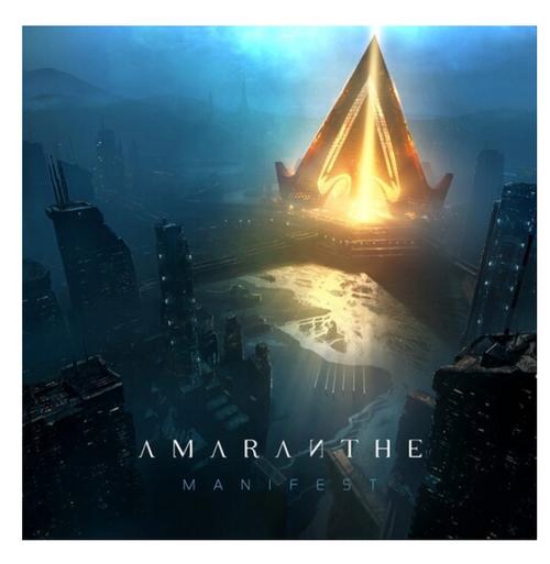 Amaranthe – Manifest.   (Vinyl, LP, Album, Limited Edition, Cyan)