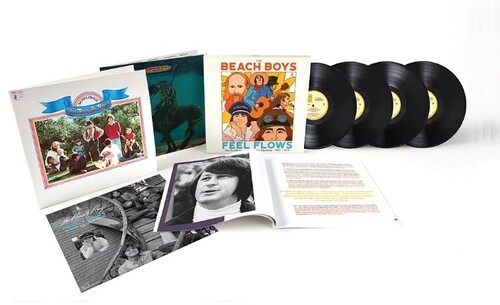 Beach Boys - Feel Flows: The Sunflower & Surf's Up Sessions 1969-1971 (4 x Vinyl, LP, Album, Remastered, Deluxe Edition, Boxset)