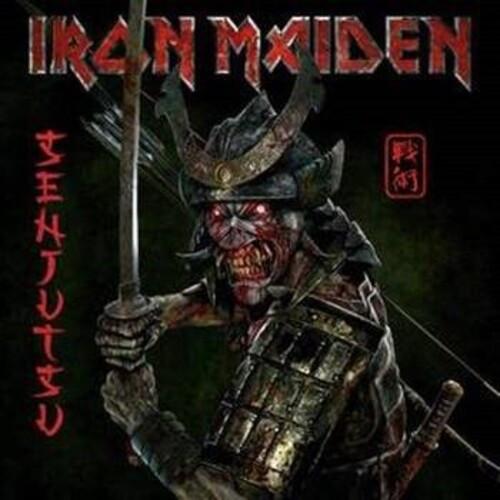 Iron Maiden - Senjustsu (3 x Vinyl, LP, Album, Limited Edition, Silver Black Triple Marble)
