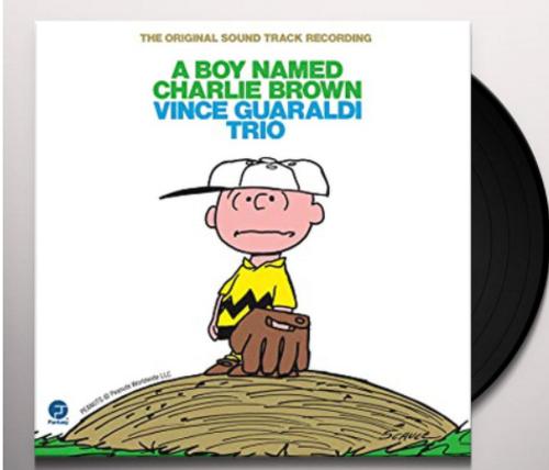 A Boy Named Charlie Brown - Vince Guaraldi Trio      (Vinyl, LP, Album)
