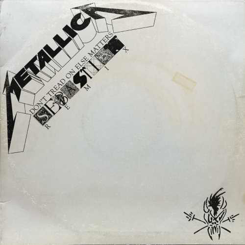 "Metallica - Don't Tread On Else Matters (SebastiAn Remix) (Vinyl, 12"" Single, 45RPM, Etching)"