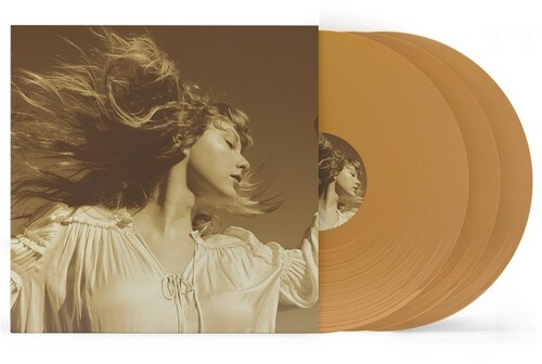 Taylor Swift - Fearless (Taylor's Version) (3 x Vinyl, LP, Album, Deluxe Edition, Gold)