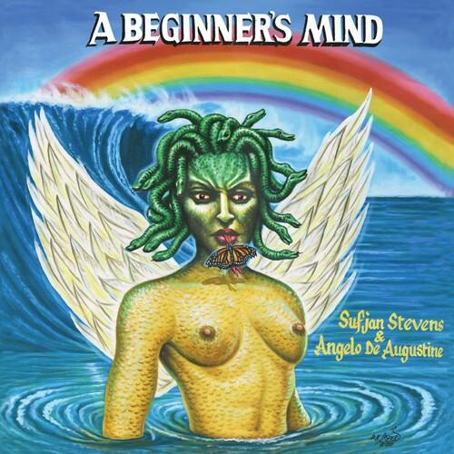 Sufjan Stevens & Angelo De Augustine - A Beginner's Mind (Vinyl LP, Album, Limited Edition, Olympus Perseus Shield Gold)