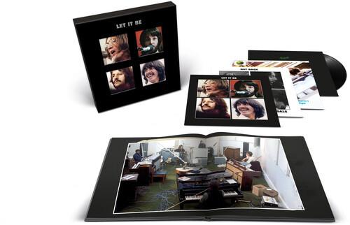 The Beatles - Let It Be (5 x Vinyl, LP, Album, Deluxe Edition, Boxset, Half-Speed Mastered, 180g)