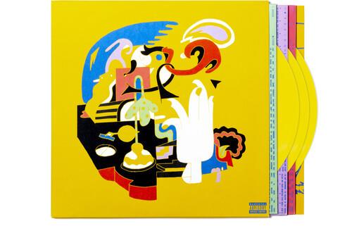 Mac Miller - Faces (3 x Vinyl, LP, Album, Yellow)