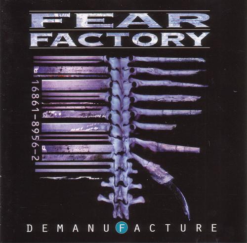 Fear Factory - Demanufacture (3 x Vinyl, LP, Album, Deluxe Edition, Remastered, Blue/White/Black Transparent)