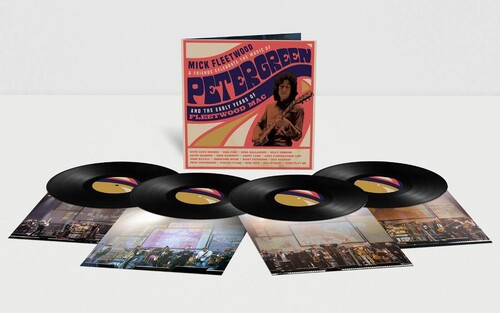 Mick Fleetwood & Friends – Celebrate The Music Of Peter Green And The Early Years Of Fleetwood Mac. (4 x Vinyl, LP, Album)