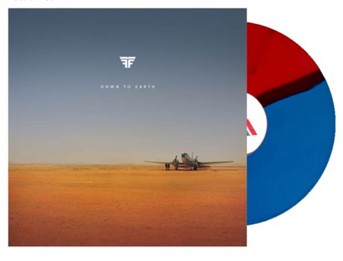 Flight Facilities – Down To Earth.   (2 × Vinyl, LP, Album, Repress, Red, White and Blue)