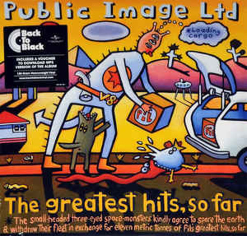 Public Image Limited - Greatest Hits So Far (VINYL LP)