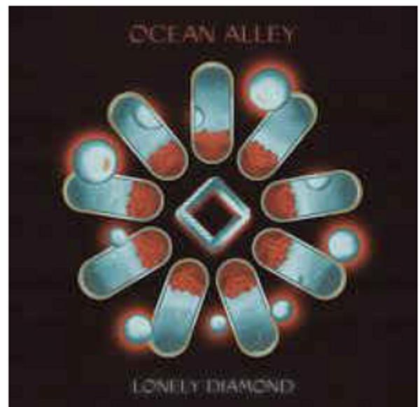 Ocean Alley, – Lonely Diamond,.   (2 × Vinyl, LP, Album, Limited Edition, Transparent Blue Vinyl)