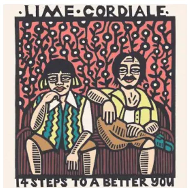 Lime Cordiale - 14 Steps To A Better You.   (Vinyl ,Lp, Album)
